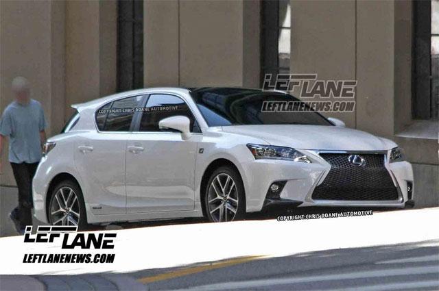 2014 Lexus CT 200h F SPORT Front