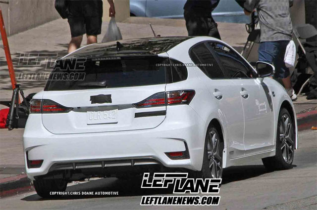 2014 Lexus CT 200h F SPORT Rear