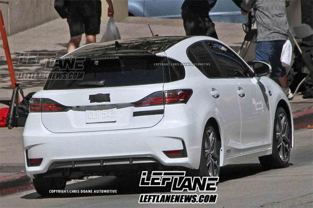 2014 Lexus CT 200h F SPORT Rear