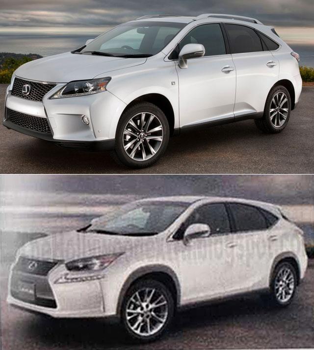 Lexus NX vs Lexus RX Comparison
