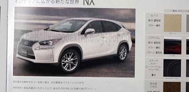 Lexus NX Burlapp Fake