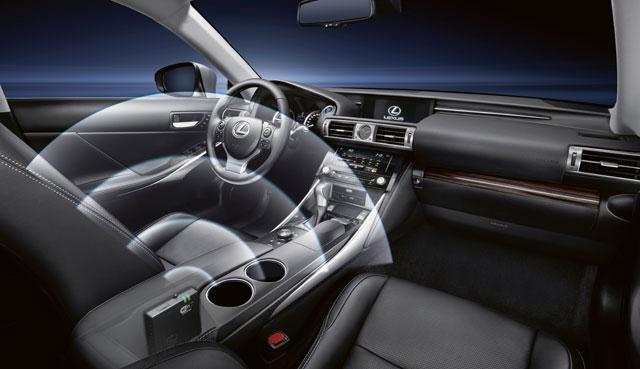 Lexus IS Wifi Europe