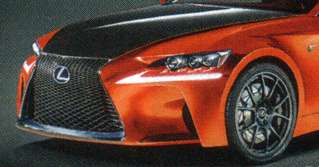 Lexus IS F CCS-R Closeup