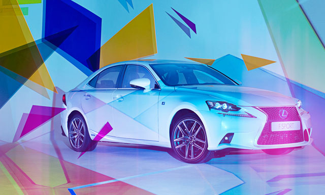 Lexus IS 300h Art Installation with Bahar Yurukoglu