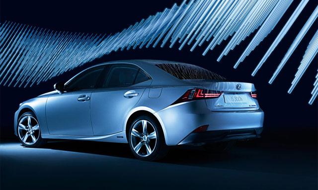 Lexus IS 300h Art Installation with Cristina Parreño