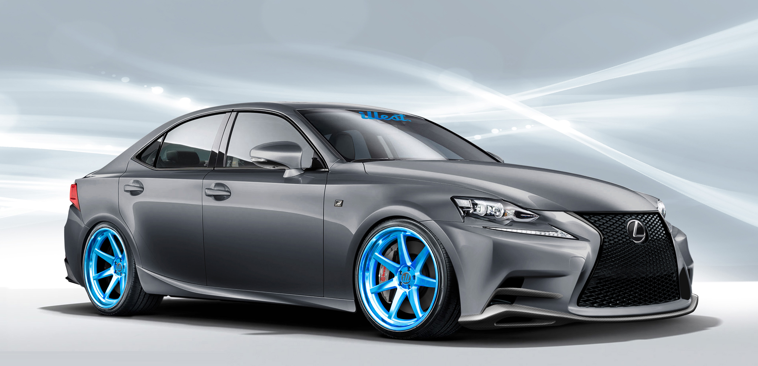 Lexus IS Body Kit From Illest Coachworks