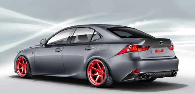 Lexus IS Body Kit from Illest Coachworks