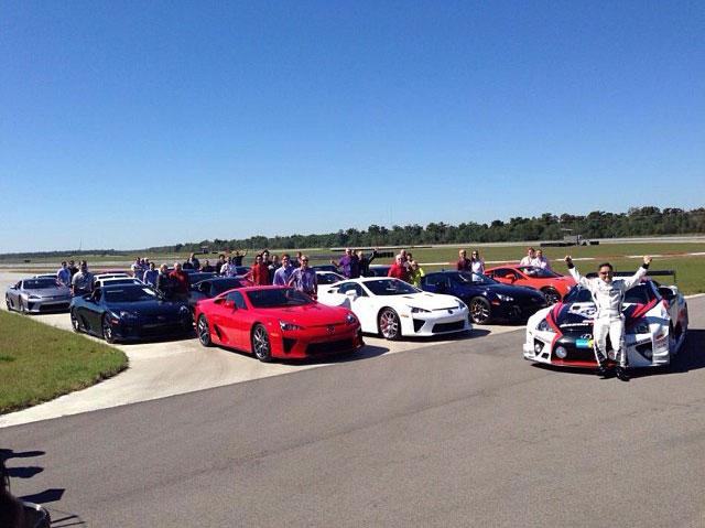 Lexus LFA Owners Event Akio Toyoda