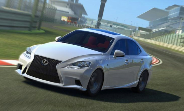 Lexus IS F SPORT Real Racing 1