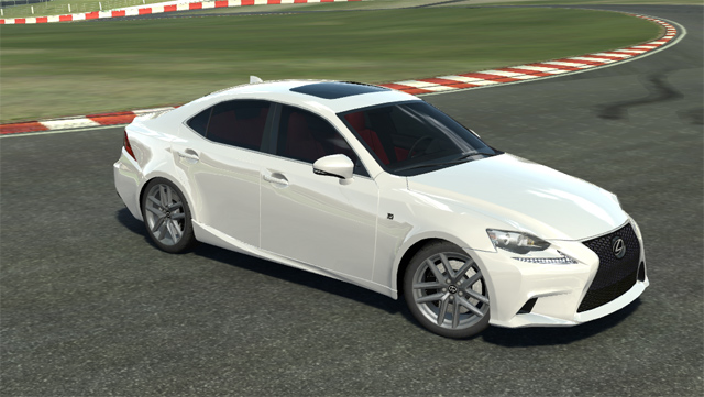 Lexus IS F SPORT Real Racing 2