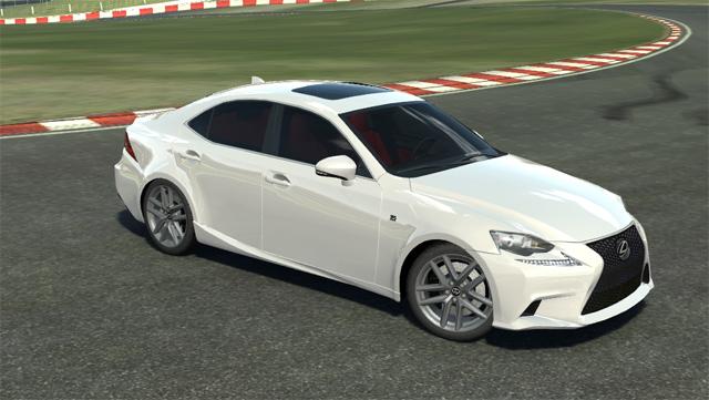 Lexus IS F SPORT Real Racing 2