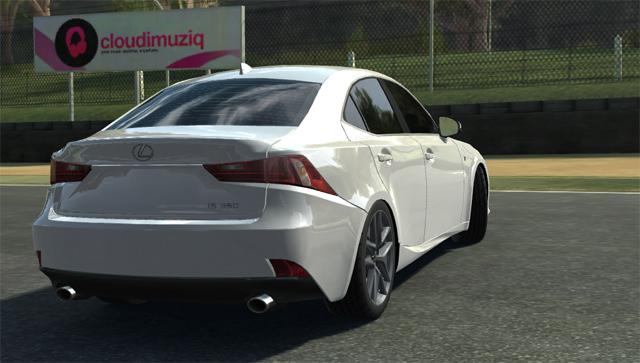Lexus IS F SPORT Real Racing 3