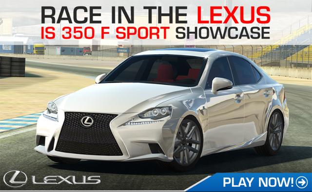 Lexus IS F SPORT in Real Racing