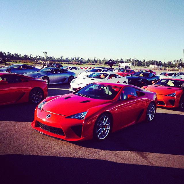 Lexus LFA Owners Event 2