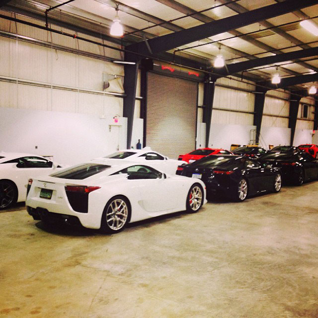 Lexus LFA Owners Event 4