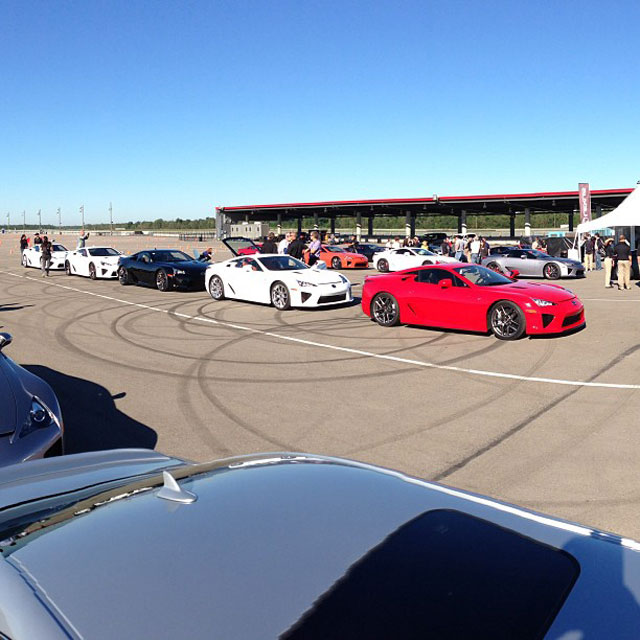 Lexus LFA Owners Event 6