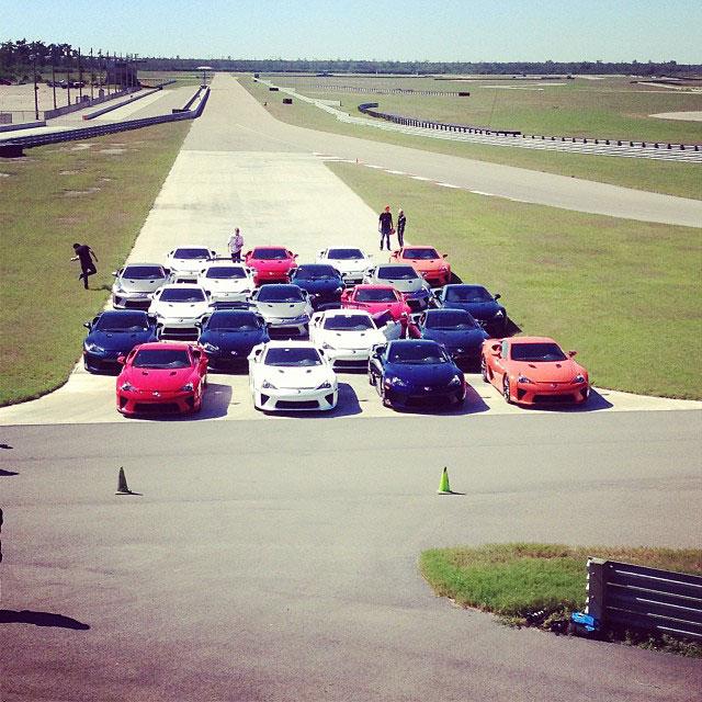 Lexus LFA Owners Event 1