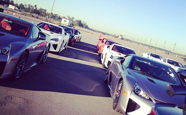 Lexus LFA Owners Event