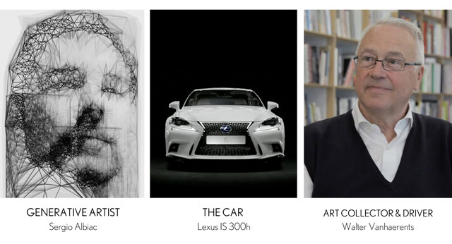 Lexus IS Art IS Motion