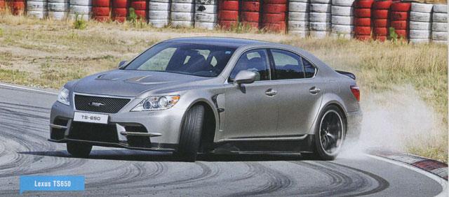 Lexus LS TMG 650 Sideways