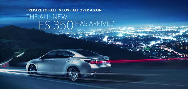 Lexus ES Returns to the Asia-Pacific market