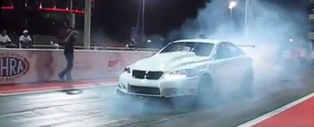 Lexus IS Drag Racer