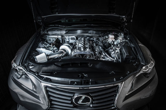 Lexus IS F SPORT by Philip Chase