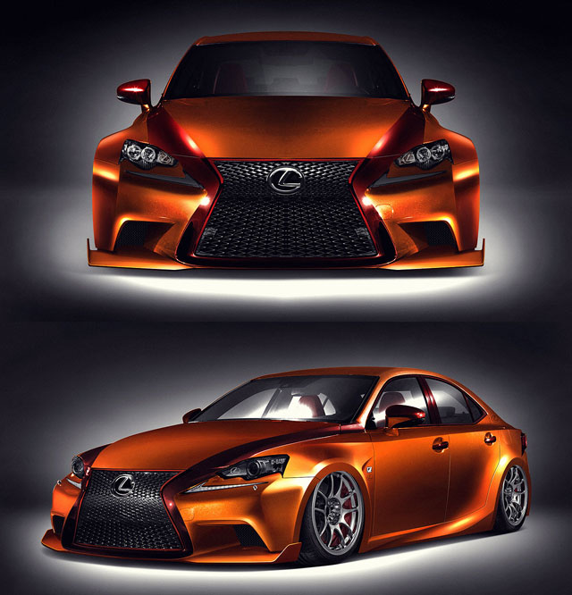 Lexus IS F SPORT by Paul Tolson and Gabriel Escobedo
