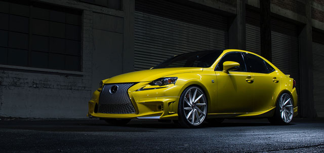 Lexus IS F SPORT by Vossen Wheels