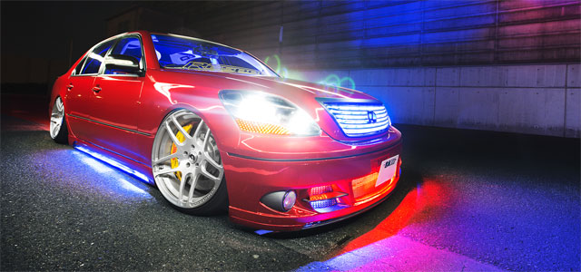 Lexus Japan Celsior Neon