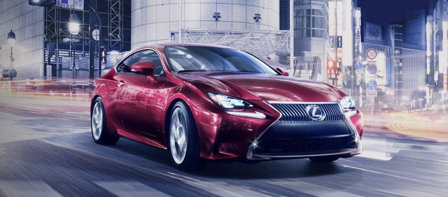 Lexus RC Debut Tokyo
