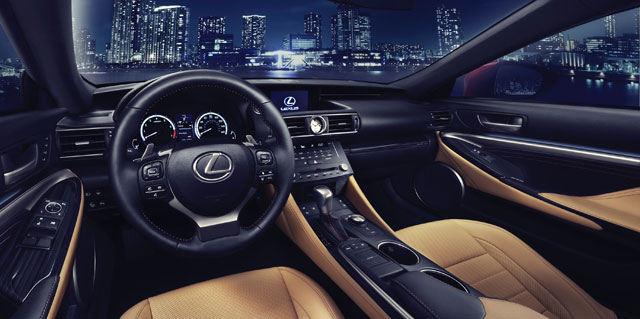 Lexus RC Interior Production