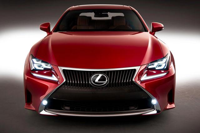 Lexus RC Front View