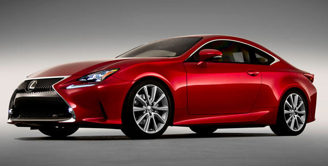 Lexus RC Photos from Motor Trend