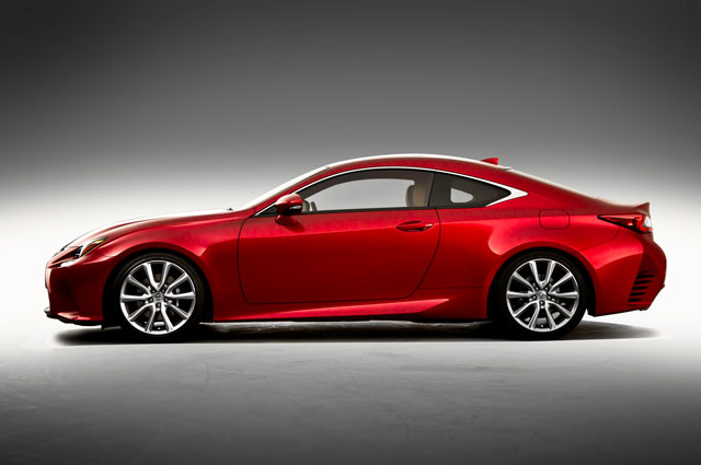 Lexus RC Side View