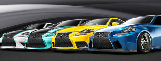 Lexus Live Coverage SEMA 2013