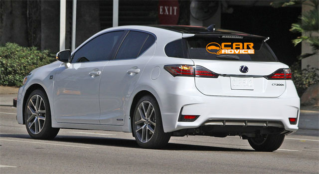 Lexus CT 200h Rear 2014