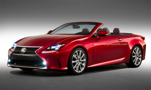 Lexus RC Convertible by Theophilus Chin