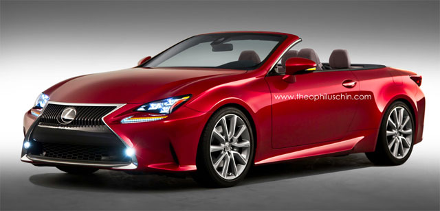 Lexus RC Convertible