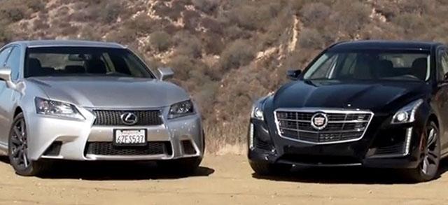 Lexus GS F SPORT vs. Cadillac CTS V SPORT