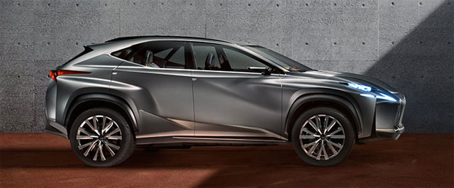 Lexus LF-NX Feature in Beyond Magazine