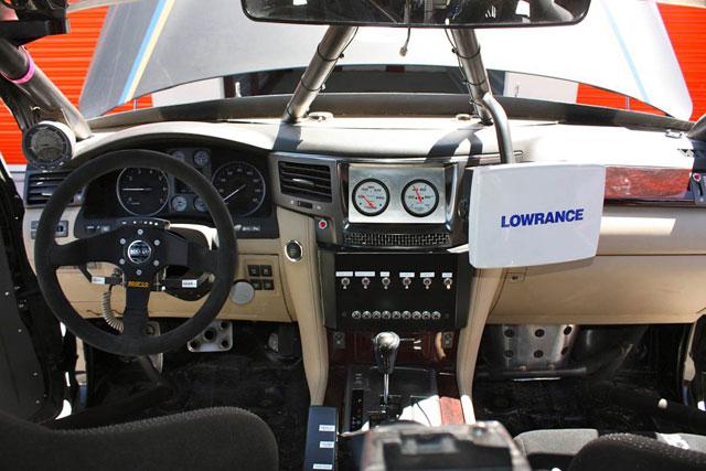 Lexus LX Racer: Interior