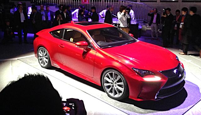 Lexus RC Reveal Tokyo