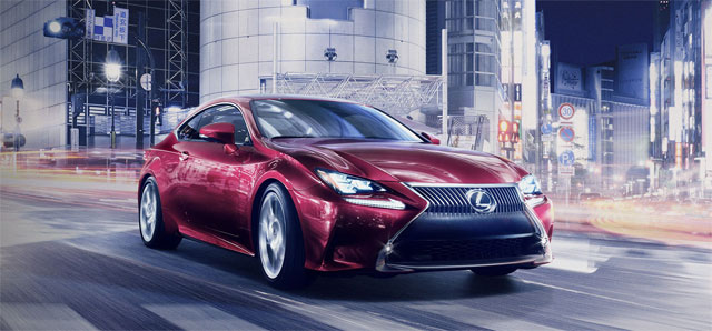 Lexus RC at Tokyo Motor Show