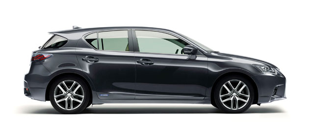 2014 Lexus CT 200h Side Profile
