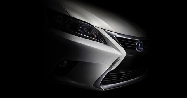 Lexus CT 200h Shaded