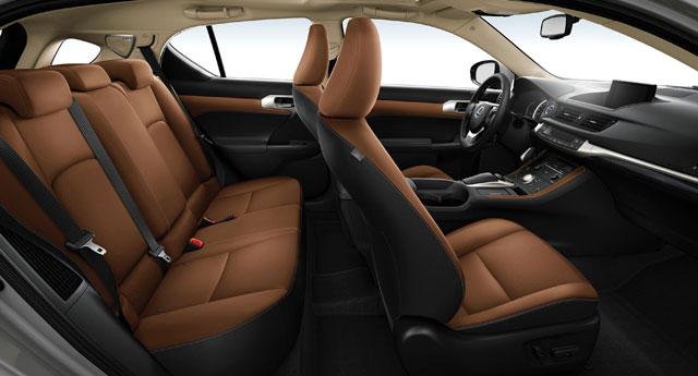 2014 Lexus CT 200h Interior