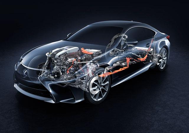 Lexus RC Engine