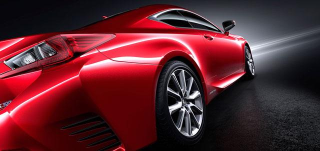 Lexus RC Hero Image