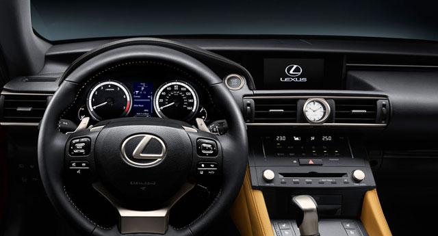 Lexus RC Interior Tokyo